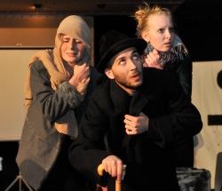 Vorstellung Theater zum Thema Flucht